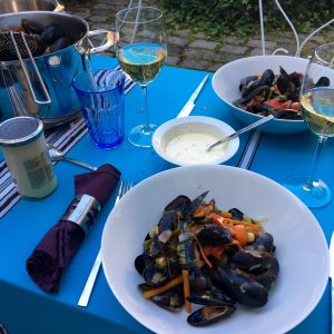 Mussels in September